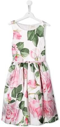 MonnaLisa floral sleeveless dress