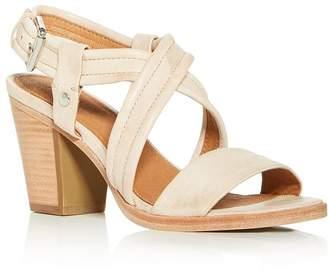 Frye Women's Dani Crisscross Slingback Block-Heel Sandals