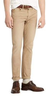 Polo Ralph Lauren Men's Slim Fit Stretch Pants - Khaki - Size 38x30