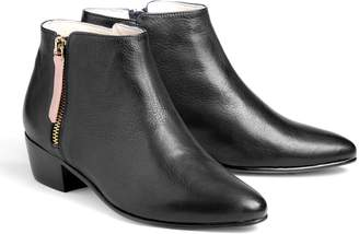 Nine to Five - Low Cut Bootie Schilling Black Rosé