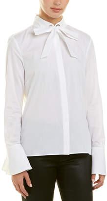 Armani Exchange Tie-Neck Top