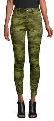 Design Lab Camo-Print Skinny Jeans