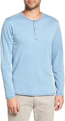 Goodlife Split Hem Henley Shirt