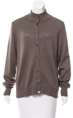 Malo Long Sleeve Knit Cardigan
