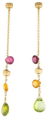 Marco Bicego 18K Multistone Paradise Drop Earrings