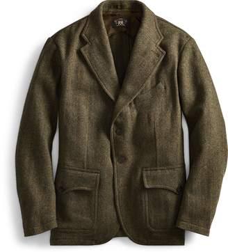 Ralph Lauren Herringbone Tweed Sport Coat