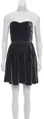Jay Godfrey Strapless Mini Dress