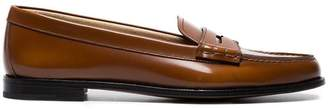 Church's Brown Kara leather loafers