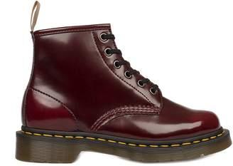 Dr. Martens Bordeaux Vegan Brushed Eco-leather Low Boot