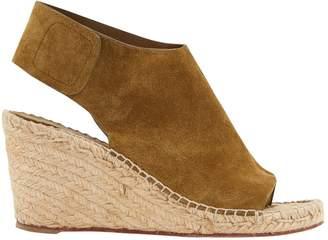 Celine Khaki Suede Sandals