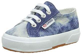 Superga Boys' 2750-TYEDYEDENIMJ Trainers, (Blue 729), 7.5UK Child
