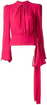 Elisabetta Franchi loose flared blouse