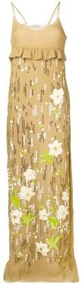 Prada beaded long dress