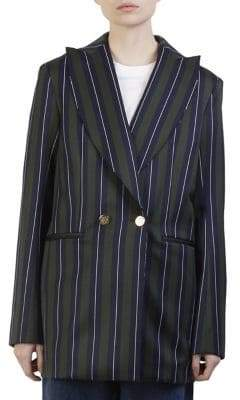 Loewe Striped Wool-Blend Blazer