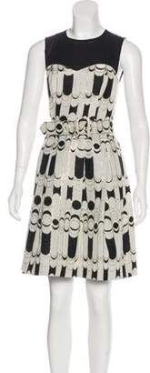 Trina Turk Sleeveless Patterned Dress