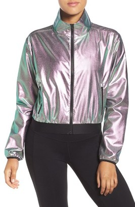 Women's Reebook Faves Shimmer Jacket $110 thestylecure.com
