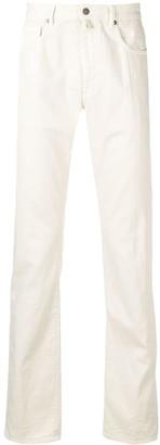 Incotex five pocket design jeans