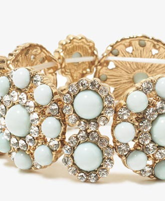Forever 21 Colored Bead Bangle