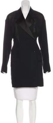 Celine Wool Knee-Length Coat w/ Tags