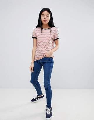 Lee Stripe Ringer T-Shirt