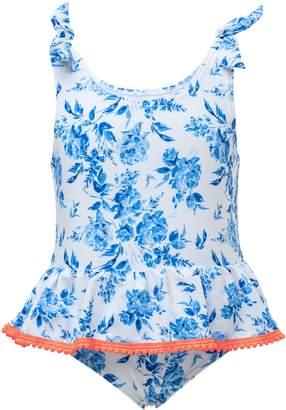 Snapper Rock Cottage Floral One-Piece Swimsuit