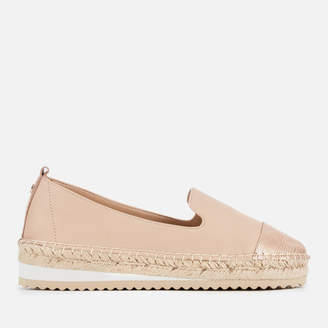 Dune Women's Gavi Leather Espadrilles