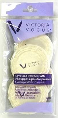 Victoria Vogue Round Puff Pressed Powder 4S
