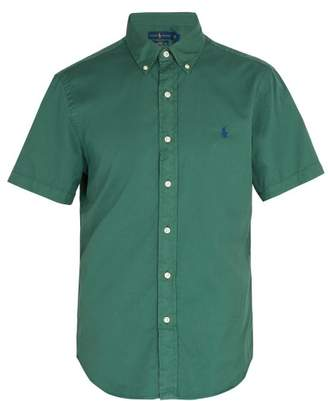 Polo Ralph Lauren Short Sleeved Cotton Shirt - Mens - Green