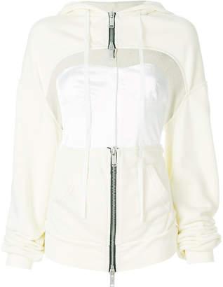 Unravel Project cut-out corset jacket