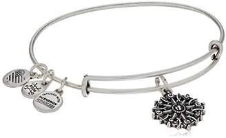 Alex and Ani Women's Compass Charm Bangle Bracelet