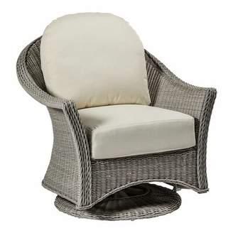 Summer Classics Regent Swivel Glider Chair with Cushions Summer Classics
