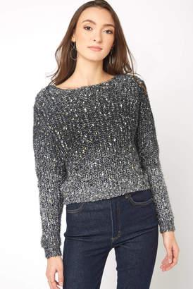 Gentle Fawn Metallic Eyelash Sweater