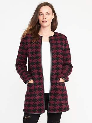 Old Navy Textured-Jacquard Cardi-Coat for Women
