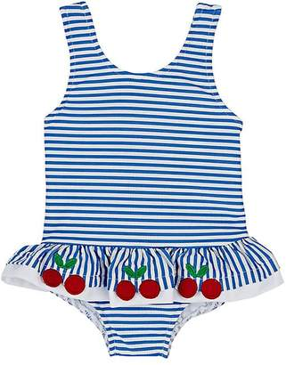 Florence Eiseman Striped One-Piece Swimsuit
