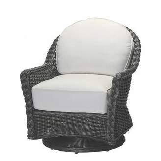 Summer Classics Sedona Swivel Glider Chair with Cushions Summer Classics