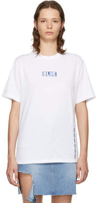 Sjyp White Box Logo T-Shirt