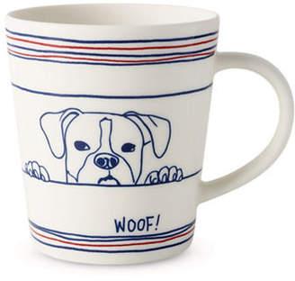 ED Ellen Degeneres Dog-Print Porcelain Mug