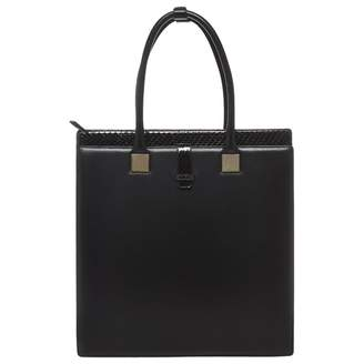 Linda Farrow Black Leather Handbag