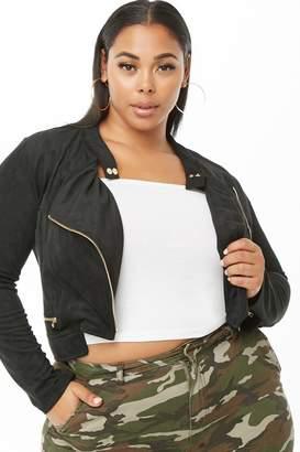 e752ebdf7ed15 Forever 21 Black Plus Size Jackets - ShopStyle Canada