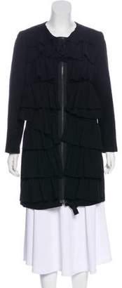 3.1 Phillip Lim Ruffle-Tiered Wool Coat