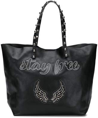 RED Valentino RED(V) Stay Free tote bag