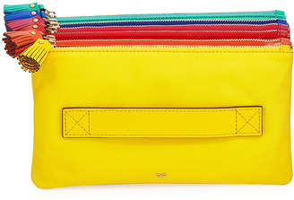 Anya Hindmarch Filing Cabinet Colorblock Clutch Bag