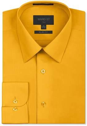 Ward St Men's Slim Fit Dress Shirts, Medium, 15-15.5N 32/33S