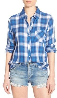 Women's Rails 'Hunter' Plaid Shirt $148 thestylecure.com
