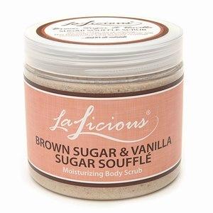 LaLicious Sugar Souffle Moisturizing Body Scrub, Sugar Reef