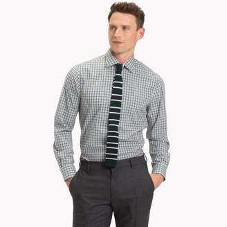Tommy Hilfiger Classic Cotton Check Dress Shirt