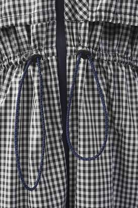 3.1 Phillip Lim Long Gingham Parka