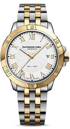 Raymond Weil Tango Two Tone Watch, 41mm