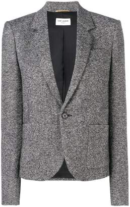 Saint Laurent fitted blazer