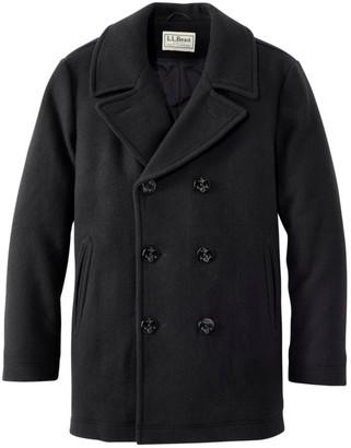 L.L. Bean L.L.Bean Authentic wool pea coat
